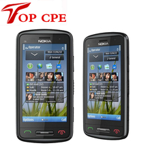 Original Nokia Refurbished C6-01 Mobile Phone capacitive touchscreen Camera 8.0MP Unlocked C6-01 Cellphone Free Shipping(China)