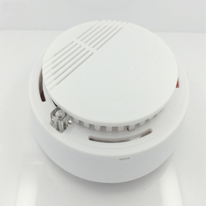 Hot Selling Wireless Smoke Detector For Office Fire Alarm Sensor Indoor House Safety Garden Security alarm system Smoke Alarm<br><br>Aliexpress