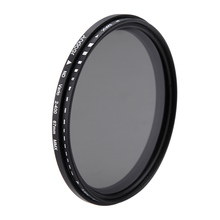 Oversea Stock Andoer 67mm ND Fader Filter Neutral Density Adjustable ND2 to ND400 Variable Filter for Canon Nikon DSLR Camera