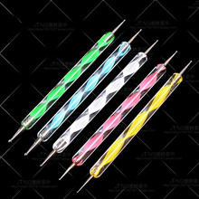 1 PCS 2 Way Dot Pen Nail Rhinestones Acrylic Nail Art Rhinestones Decoration