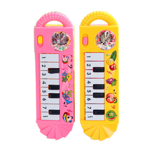 Random Delivery!!! Baby Infant Toddler Developmental Toy Kids Musical Piano Early Educational Toy(China)