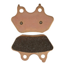 Motorcycle Parts Copper Based Sintered Brake Pads For HARLEY DAVIDSON FLSTF / FLSTFi 2007 Rear Motor Brake Disk #FA434