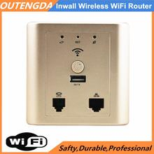 Repetidor WiFi High Speed Wireless Access Point Router for Hotel Rooms in Wall Wi-Fi AP(China)