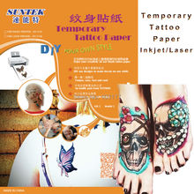 A4 Carbon Printable Temporary Tattoo Transfer Stencil  Paper With Laser Printer For Printing Decal Paper