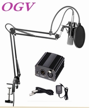 Professional audio equipment condenser microphone song recording network podcast K song 48V phantom power audio cable adapter(China)