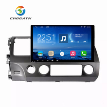 ChoGath(TM) 10.2'' 1.6GHz Quad Core RAM 1GB Android 6.1 Car Radio GPS Navigation Player for Honda Civic 2006-2011 No Canbus(China)