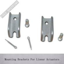 Free Shipping! Hot Sales A type 2pcs Mounting Brackets For Linear Actuators