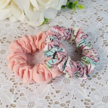 New Style Scrunchy Headwear Hair Ribbons Ponytail Holder Hair Tie Band Grils Fabric Hair Bands Hair Accessories(China)