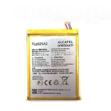 2500mAh New Original High quality TLp025A2  battery For ALCATEL one touch OT-8008D scribe HD OT8000 8000D 6043D TCL Y710 Y900