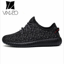 VIXLEO 2017 Superstar Casual Shoes Men&Couple Shoes Trainer Mesh Air Breathable Flats lace up Los Zapatillas hombres(China)