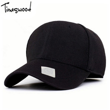 [TIMESWOOD]2017 Spandex Flexfit Fitted Baseball Cap Casual Full Closed Caps Men Women Sunscreen Casquette Hat Black Fashion Cool