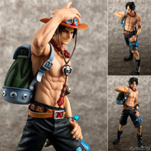 2016 Newest Anime One Piece Figures Toys 23cm Portgas D Ace Action Figuras Model Dolls Brinquedos