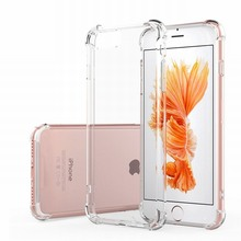 For iPhone 7 Plus Case Crystal Clear Hybrid Hard Acrylic Back Cover For iPhone 7plus 6 6S 5 5S SE Coque Mobile Phone Accessories