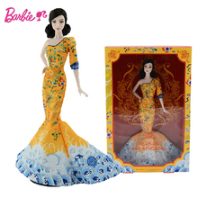 Original Barbie Doll Brand Collectible Doll Celebrity Chinese Popuar Star Toy Girl Birthday Present Girl Toys Gift Boneca BCP97