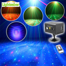 Remote RG Aurora Laser Light Professional Stage Lighting Equipment Sky RGB LED Stage Party Disco DJ Home Light