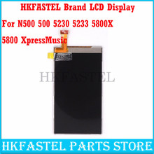 HKFASTEL Brand Original LCD display For Nokia N500 500 5230 5233 5800 XpressMusic Mobile Phone LCD Display ( NO touch screen )(China)