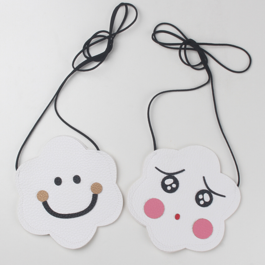 JC KIDS 10pcs/lot Baby Cute Emotion PU Bag Kids Smile And Tearfully Face Coin Purse 12*13.5cm Small Emoji Coin Purse<br><br>Aliexpress