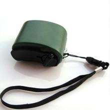 Travel Phone Charger Dynamo Cell Hand USB Hand Emergency Dynamo Phone Accessories Universal USB Mobile Crank(China)