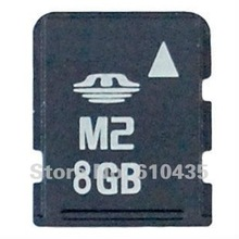 Wholesale M2 memory card 8GB full capacity MOQ 1pc Free shipping