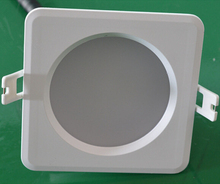 Hot Sale!!! IP65 waterproof COB15W/20W Dimmable LED Downlight Fixture Ceiling Down Lights Warm/Cool Decorative Recessed Lamps