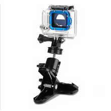 Gopro Accessories Powerful Big Clamp Tripod Adapter Quick Clip Bag Hat Mount for Go Pro Hero SJCAM Xiao Mi Yi Camera Accessories