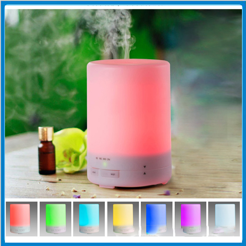 300ml Ultrasonic Air Aroma Humidifier With Changing 7 Color LED Lights Electric Aromatherapy Essential Oil Aroma Diffuser<br>