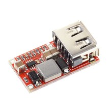 6-24V 24V 12V to 5V USB Step Down Module DC-DC Converter Phone Charger Car Power Supply Module Efficiency 97.5% Buck Module