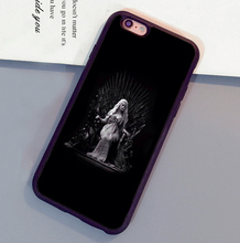 Daenerys Targaryen Game of Throne Mobile Phone Cases For iPhone 6 6S Plus 7 7 Plus 5 5S 5C SE 4S Soft Rubber Back Cover Shell