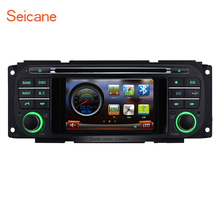 Seicane carDVD Player Bluetooth GPS Navigation Radio Stereo upgrade for 2002-2007 Jeep Wrangler Liberty Support USB AUX TV Audio(China)
