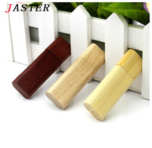 VBNM Wooden bamboo USB flash drive pen drives wood chips pendrive 4GB 8GB 16GB 32GB memory stick U disk personal Gift(China)