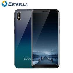 Cubot J5 5,5 дюймов Android 9,0 MT6580 четырехъядерный 1. 3g Hz 2 Гб ram 16 Гб rom смартфон 5.0MP задняя камера 2800 mAh 3g Movil