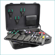 Orientek TFS-35N FTTH Fiber Optic Cable Tool Kit For Optical Fiber Fusion Splicing