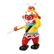 New Hot Inteligent Robot Monkey King Rotating Dancing Robot Light Emitting Electric Music Robot Toy RC Robot For Chidren Gift