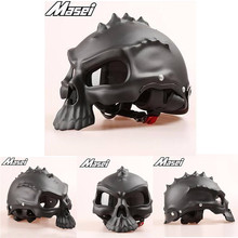 (1pc&11colors) DOT Approval Factory Outlets Masei CG489 Brand Half Face Motor Helmet Motorcycle Skull Helmets Capacetes Casco(China)