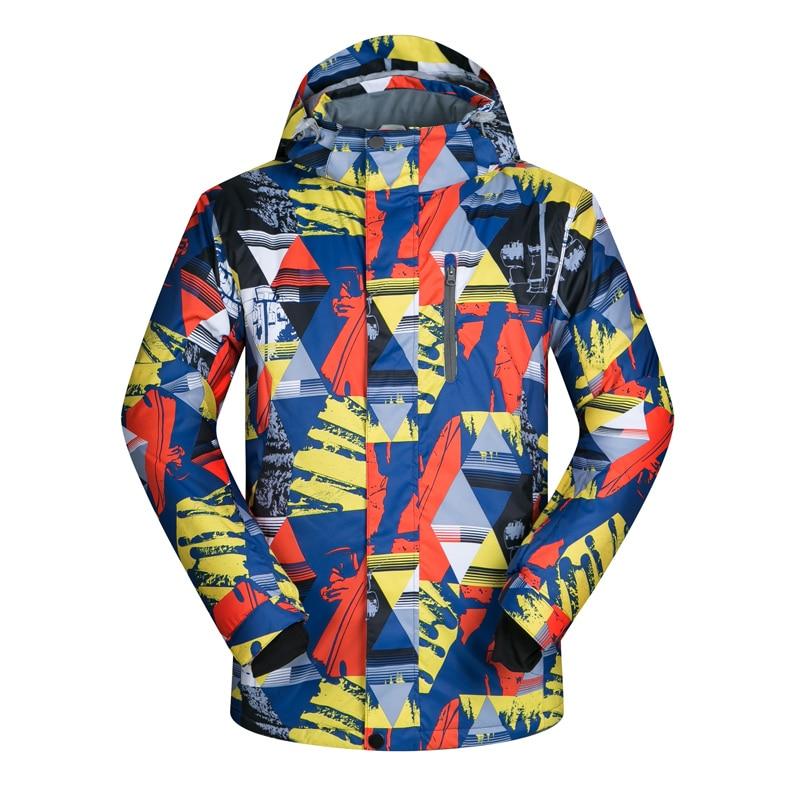 Ski Jacket Men Windproof Waterproof Snowboard Jackets Hiking Camping Jacket Outdoor Sport Coat <br><br>Aliexpress