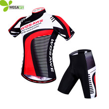 Buy WOSAWE Racing Team Cycling Jersey Short Sleeve Sport Suit 4D Padded Mtb Bike Bicycle Jersey Cycling Clothing Sets for $24.99 in AliExpress store