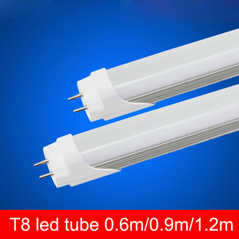 10 pieces/lot 24W LED TUBE BULB T8 4FT 120cm Replace to fluorescent fixture Compatible with inductive ballast Milky Clear cover<br><br>Aliexpress