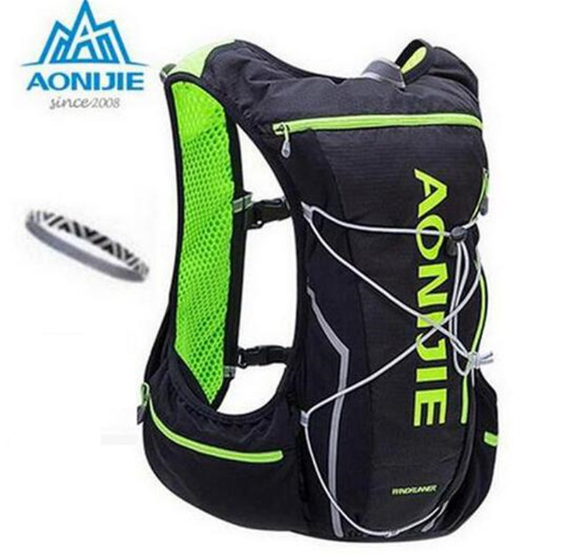 AONIJIE Men Women 10L Bicycle Bag Outdoor Cycling Marathon Running With 2L Backpack Water Hydration Riding Water Bag<br>