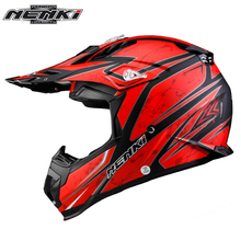 NENKI Motocross Helmet Motorcycle Enduro Off-Road Cross-Country Moto Dirt Bike ATV MX BMX Downhill DH MTB Rally Racing Helmets(China)