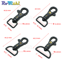 Plastic lobster clasp Plastic Swivel Snap Hooks for Bag Belts Straps Keychain Clasp Backpack Accessories