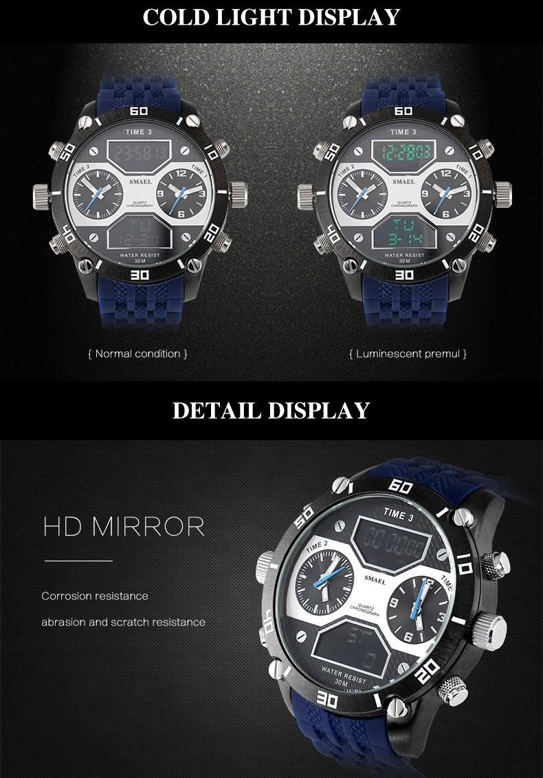 5 Big dail watch men