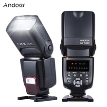 Andoer AD-560II Universal Flash Speedlite On-camera Flash GN50 w/Adjustable LED Fill Light for Canon Nikon Olympus Pentax DSLR