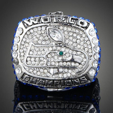High Quality Seattle Seahawks Super Bowl Rings Championship Ring For Men Fashion Customized Sport Jewelry(China)