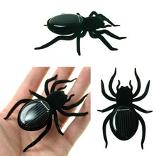 Solar Spider Tarantula Educational Robot Scary Insect Gadget Trick Solar Toy  Robot Toy scarafaggio a energia solare