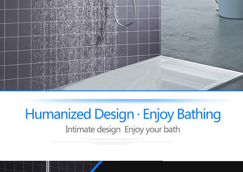 Bathroom 2 Way Hot Cold Brass Diverter Multifunctional Shower Kits Air Pressurized High Pressure Water Saving Shower Head Set (4)