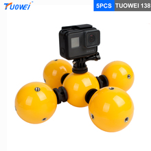Buy TUOWEI Gopro 5pcs Waterproof Diving Floating Floaty Ball GoPro Go Pro Hero 6 5 4 3 Xiaomi Yi SJCAM Action Sport Camera for $51.57 in AliExpress store