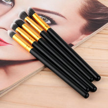 5PCS Pro Makeup Kits Brush Set Cosmetic Tool Eyeshadow Foundation Blending Wholesale Beauty Accessories