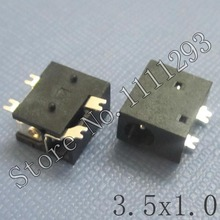 20pcs/lot DC Power Jack Connector for Tablet MP3 MP4 etc 3.5x1.0 SMD(China)