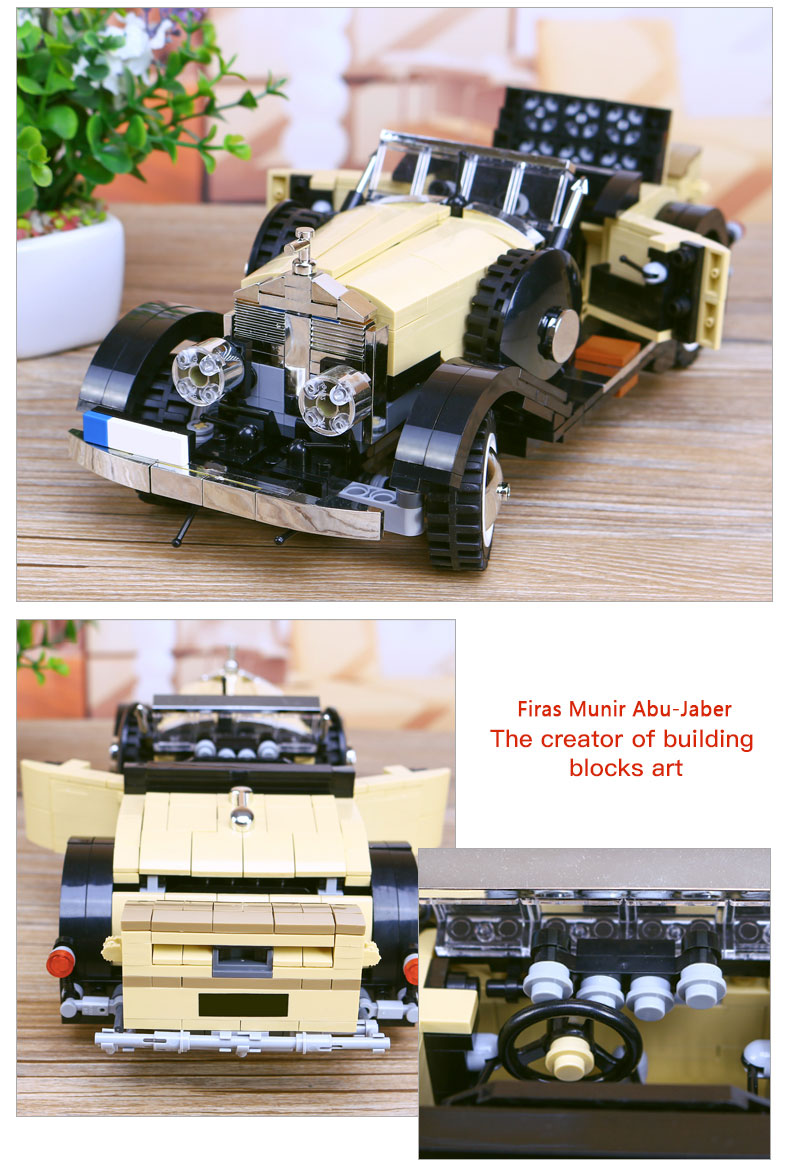 XINGBAO XB-03007 Noble Rolls Royce Silver Ghost Building Block 37