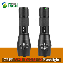 Powerful Rechargeable LED Flashlight CREE XML T6 XM-L2 Lantern Zoomable Waterproof AAA OR 18650 Battery Lamp Hand Light Torch(China)